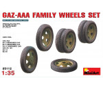 MiniArt 35112 - GAZ-AAA Family Wheels set