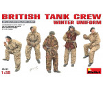 MiniArt 35121 - Britische Panzer Crew in Winteruniform