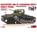 MiniArt 35123 - Valentine Mk 6. Canadian - built Early P