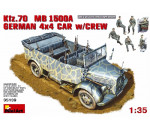 MiniArt 35139 - Kfz. 70 (MB L1500A)German 4x4 Car w/Crew
