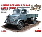 MiniArt 35142 - MB L1500S. German 4x2 Cargo Truck