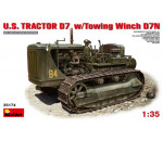 MiniArt 35174 - U.S.Tractor D7 w/Towing Winch D7N