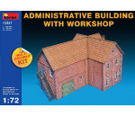 MiniArt 72021 - Administrative Building with Workshop