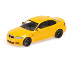 Minichamps 410020027 - BMW 1ER COUPE - 2011 - YELLOW