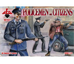 Red Box 72037 - Policemen and citizens