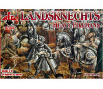 Red Box 72068 - Landknechts (Heavy pikemen), 16th centur
