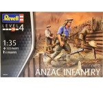 Revell 2618 - ANZAC Infantry (1915)