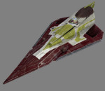 Revell 6688 - Kit Fisto's Jedi Starfighter / seas. 1+2