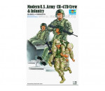 Trumpeter 00415 - Modern U.S. Army CH-47D Crew & Infantry