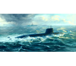 Trumpeter 05911 - Japanese Soryu Class Attack Submarine