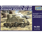 Unimodels UM362 - BA-6M Armored Vehicle