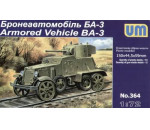 Unimodels UM364 - Armored Vehicle BA-3