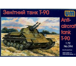 Unimodels UM394 - Anti-aircraft tank T-90