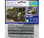 Unimodels UM401 - Ketten für Light Tank T-26