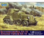 Unimodels UM501 - BA-10 Soviet armored vehicle