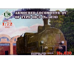Unimodels UM610 - Armored locomotive OV of type OB-3