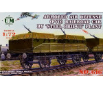 Unimodels UM616 - Armored air defense railroad car