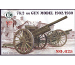 Unimodels UM625 - 76,2mm gun, model 1902/1930