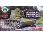 Unimodels UMT660 - A-39 (T-26 chassis) Soviet self-propelle